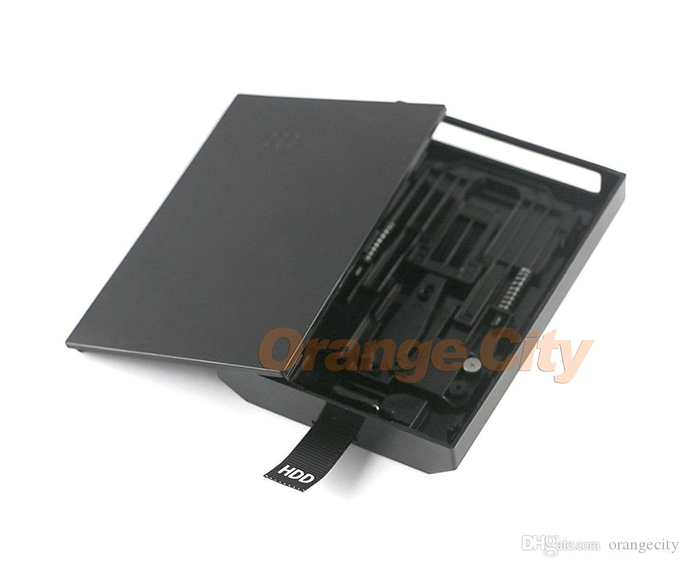 500 GB 320 GB HDD Harddisk Sabit Disk Sürücüsü Kılıf Xbox 360 Slim / Microsoft 500G 500 GB Sabit Disk Muhafaza Kutusu xbox360 konsolu için