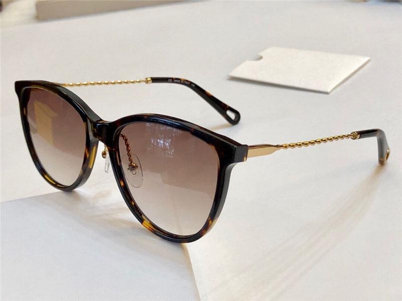 New Mulheres Popular Marca Designer Sunglasses Óptica 2727 pernas de corda de cânhamo de design óculos estilo simples de proteção Óculos UV400 vêm com caixa