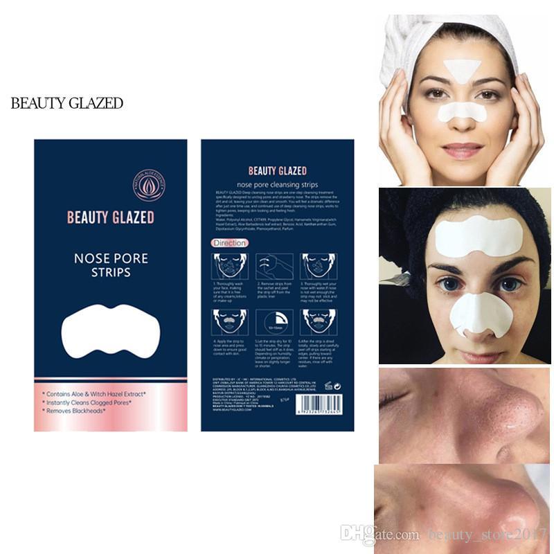 BEAUTY GLAZED Pig Nose Mask Remove Blackhead Acne Remover Clear Black Head Skin Care korean Cosmetic