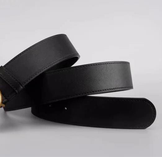 رجل إمرأة مصمم أزياء كلاسيكية فاخرة حزام حزام المرأة حزام العلامة التجارية عارضة GG الذهب الإبزيم رسالة شعار السلس الإبزيم العرض 2.0-38mm