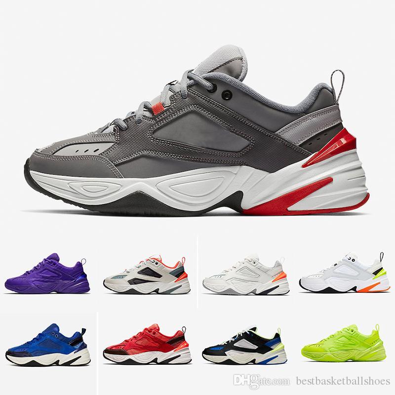레트로 줌 M2K 테크노 패션 아빠 좋은 망 신발 모나크 4 디자이너 Zapatillas 야외 운동 신발 남성 여성 클래식 스니커즈