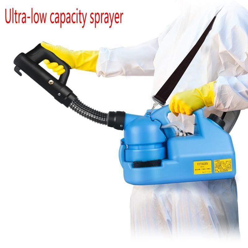 220V 7L الكهربائية ULV الباردة رش مبيد البخاخة الترا منخفضة السعة التطهير البخاخ البعوض القاتل ULV آلة الباردة رش 6013