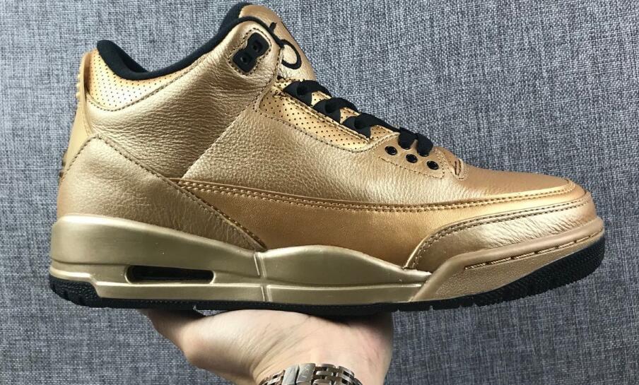 3s 61X Джастин роскошный золотой цвет Дрейк высокое качество баскетбольная обувь кроссовки 2018 новый мужской тренер