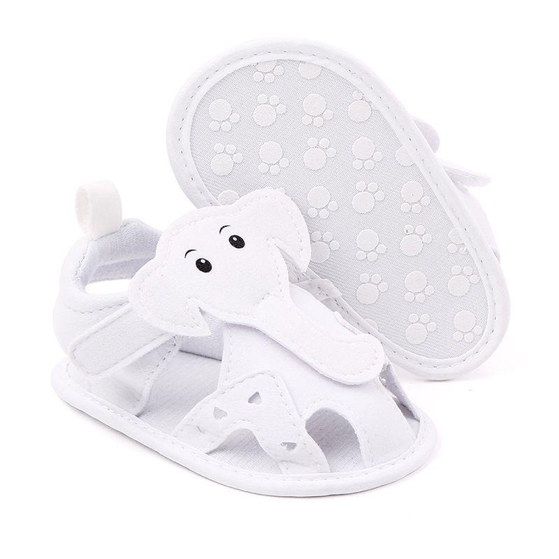 Losver Baby Girls Rubber Sandal White