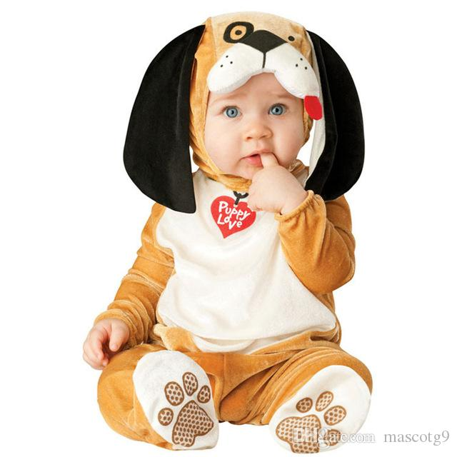 Baby Christmas Halloween Cosplay Costume Monkey lion dog Jumpsuit Boys Girls Clothes Set Kids Outfits