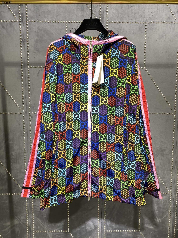 Frauen Mode Lässig Langarm Hohe Qualität Farbe Brief Serie casual Sonne Schutzkleidung 040505