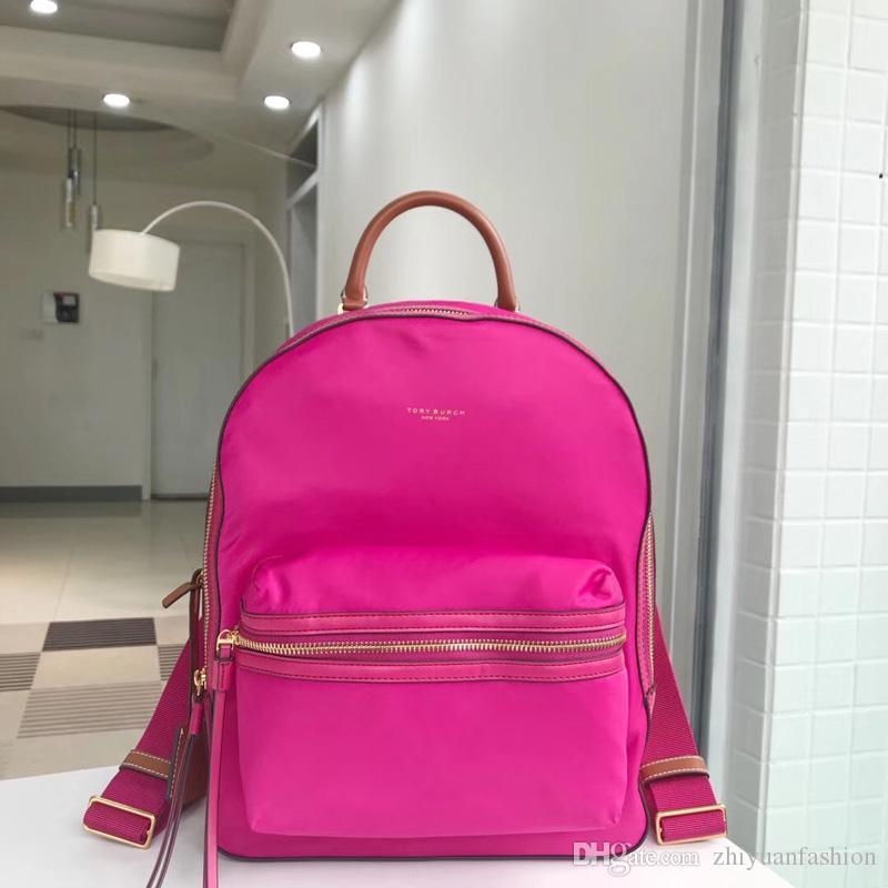 Vendita Black Friday 2019 Grazie Giving Day moda donna perry nylon con cerniera bagckpack borse portano borse