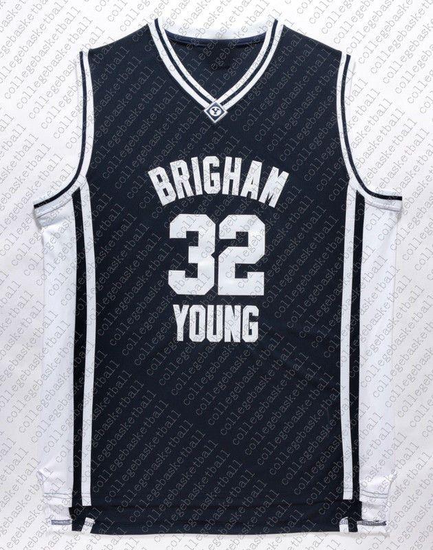 Barato al por mayor Jersey Jimmer Fredette 32 Brigham pumas joven Jersey cosida Personalizar cualquier número nombre HOMBRES MUJERES JÓVENES baloncesto de Jersey