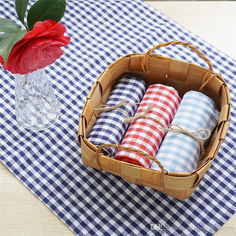 2pcs Food photo cloth, plaid table matter, tea منشفة, ins photography shooting props Nordic photo tablecth