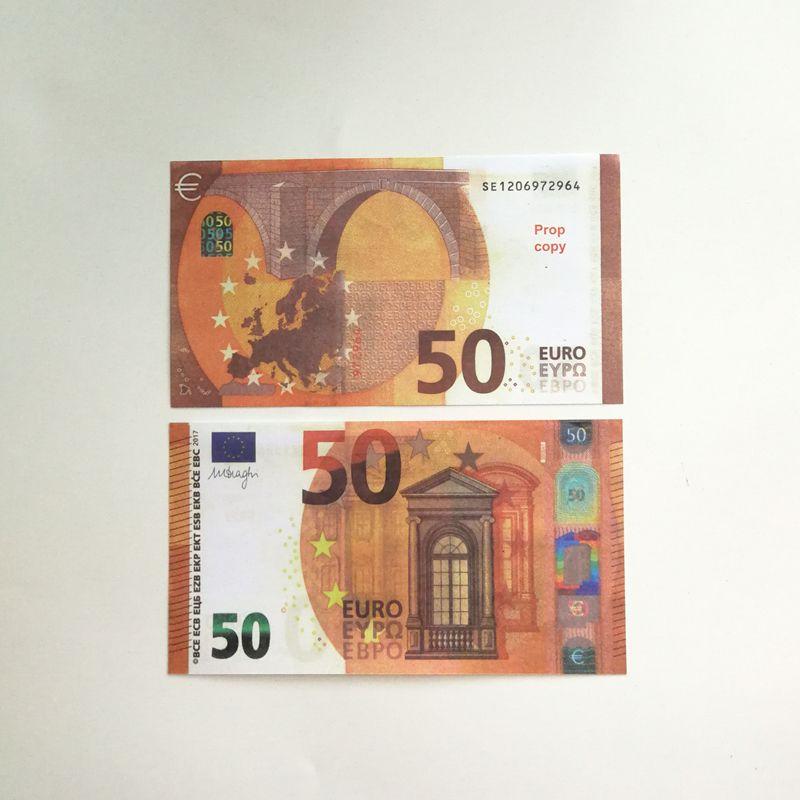 Kinderspielzeug gefälschter money10 20 50 Euro faux Billet Nacht culb Party Film Geld Unterhaltung Banknote
