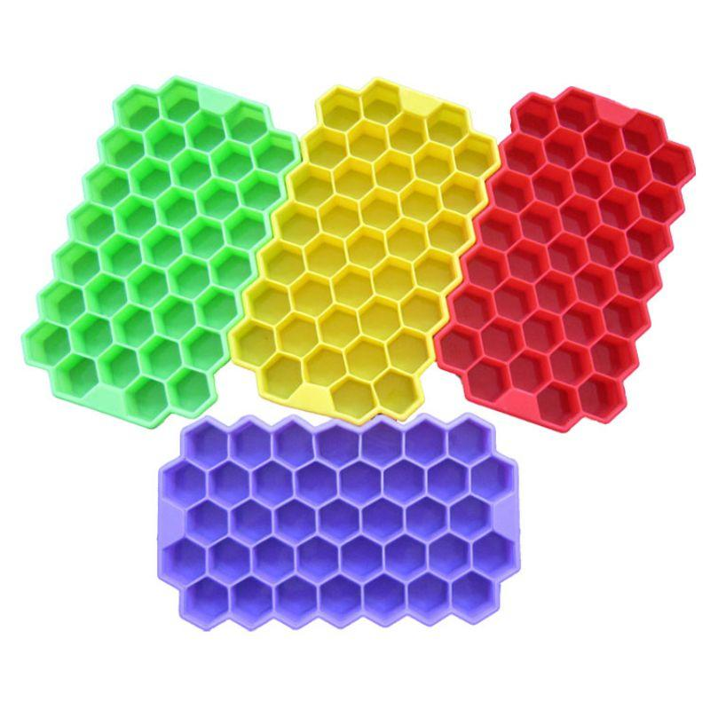 Eco-Friendly Cavity Silicone Mold For Ice Cube Tray Mini Ice Cubes Small Square Mold Ice Maker