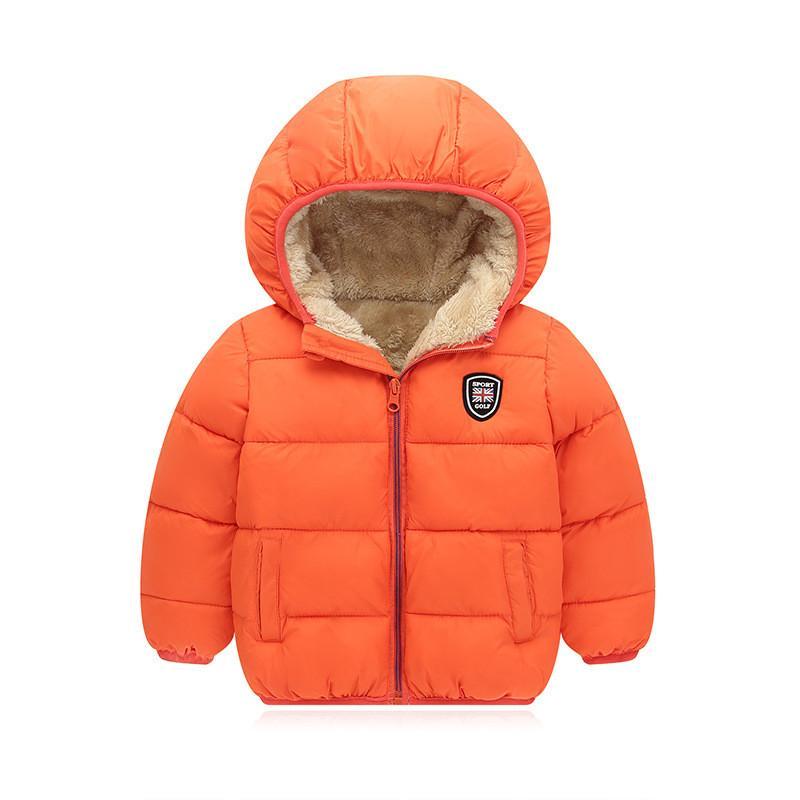 enfants BibiCola coton vêtements de plein air Vestes d'hiver garçons manteau à capuchon épais vers le bas parkas enfants bebe garçons vêtements de neige vêtements manteau bebe