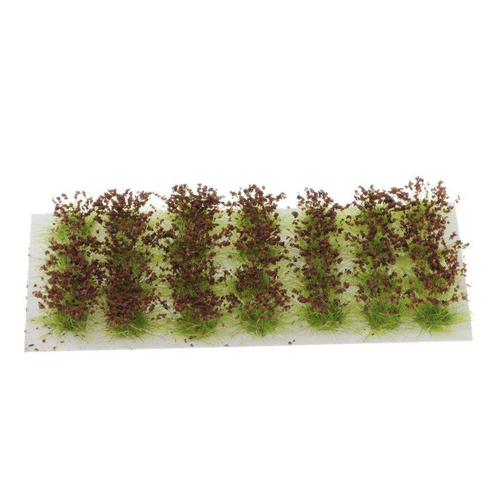 Çiçekler Tren Manzara Manzara 01:35 01:48 1:72 Ölçekli Model Tren Sahneli 28pcs Ağaçlar Modeli, Mimarlık Ağaçları, Çiçek Ağaçlar