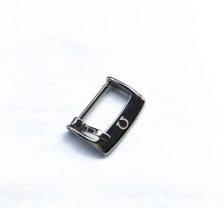 الأزياء الراقية مشبك مناسبة لملحقات حزام أوميغا مشبك غير القابل للصدأ الفولاذ دبوس مشبك معدني 14 16 18 20MM