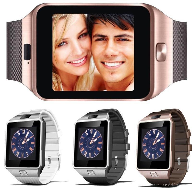 DZ09 Bluetooth Smart Watch Watch Wrist SmartWatch для iPhone 6 6S 6 плюс Samsung S4 S5 Note 2 Note 3 HTC Android-телефон Смартфоны