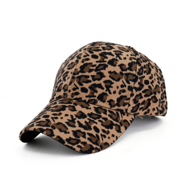 2019 للجنسين الصيف الربيع في الهواء الطلق ليوبارد أنيق مطبوعة قبعة بيسبول قبعة الرجال النساء casquette سنببك gorras الشمس
