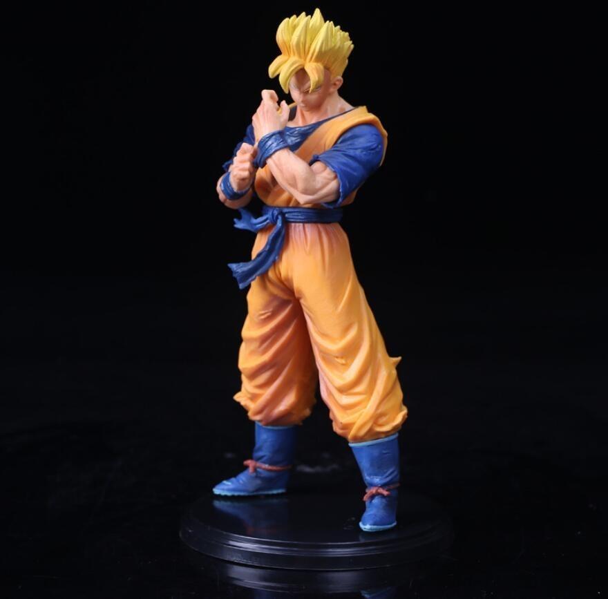 21cm Anime Dragon Ball Z Sangohan adulte futur héros Goku Père Bataille Édition action Modèle de collection Figures Y191105