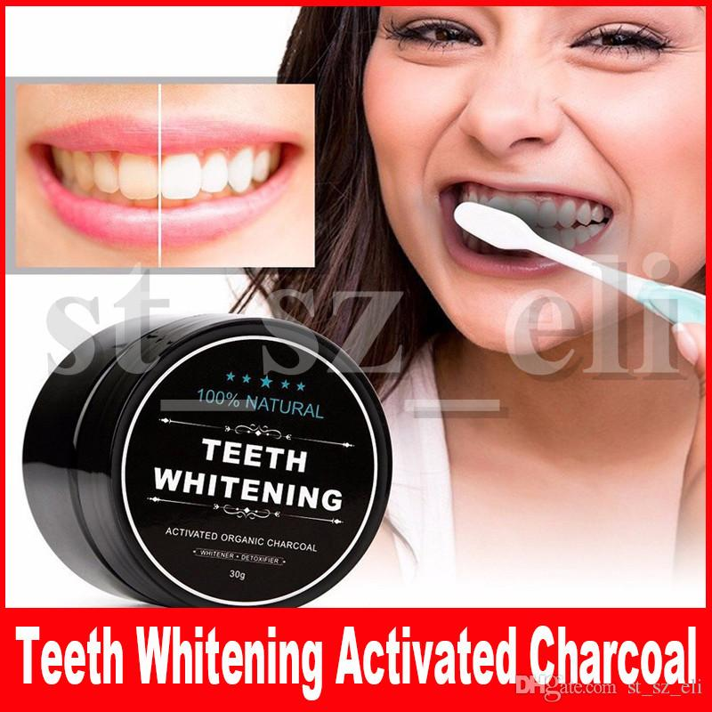 Teeth Powder Charcoal Teeth Whitening Products Cleaning Teeth With Activated Charcoal Black Charcoal Powder 30g
