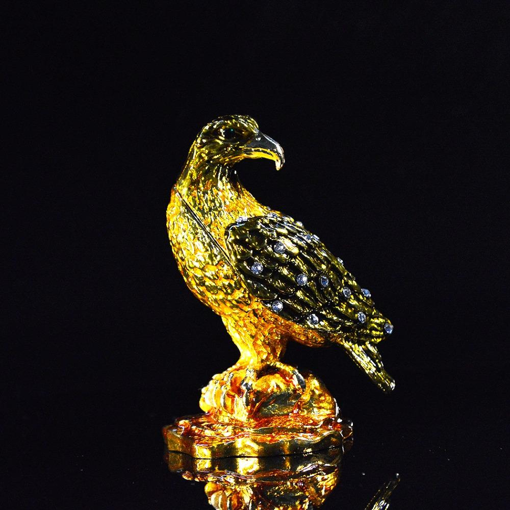 Venda Por Atacado Artesanato De Metal Lifelike Bird Home Decoration