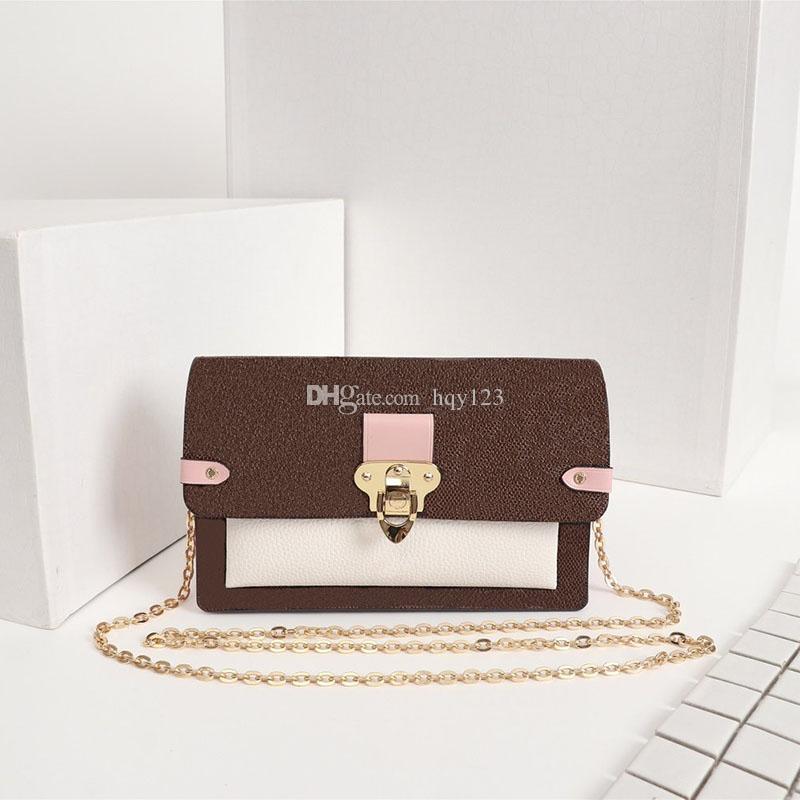 2020 أحدث الأزياء الشهيرة مصمم حقائب جميلة الداما أكياس نمط النساء الفاخرة نموذج حجم 19x12.5x4cm N60237