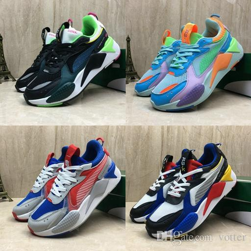 Nouveau Puma RS-X RS Reinvention Jouets Hommes 2019 Chaussures De Course Hasbro Transformers Casual Femmes rs x Designer Sneakers Papa chaussures Taille 36-45