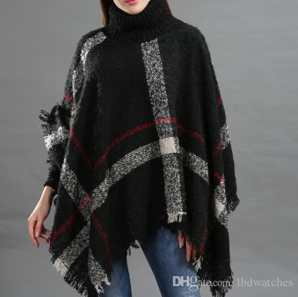 El otoño y la moda capas collar de calidez cuello señoras de invierno con flecos sueltos manto de calidez moda chal y cuidado de la piel