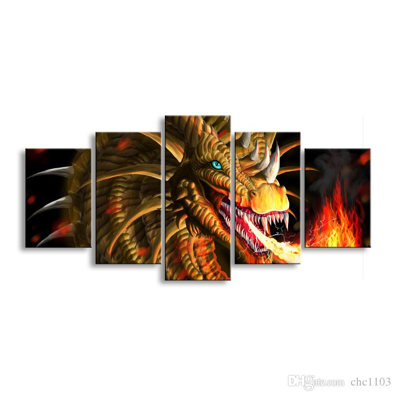 Paintingl Anime Devil painting Photo print painting Prints Wall decoration Pictures for Picture A5-8C