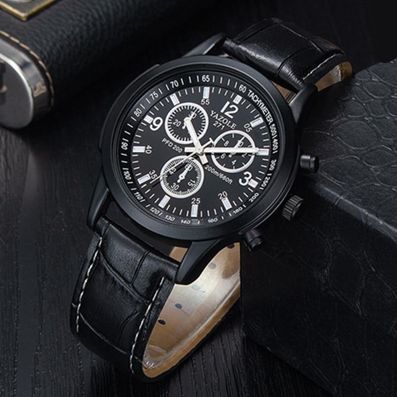 Relogio Masculino Men Watches Luxury Top Brand Yazole Sport Men's Fashion Casual Watch Quartz Wristwatches Saat