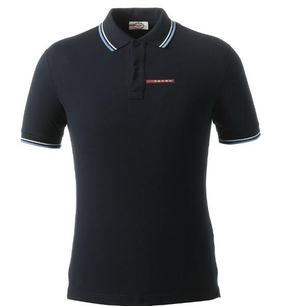 الربيع الفاخرة الايطالية T-shirt قميص بولو تصميم عالية في الشارع الرباط مطرز الحزام ثعبان القليل النحل الملابس المطبوعة الرجال ماركة قمصان البولو