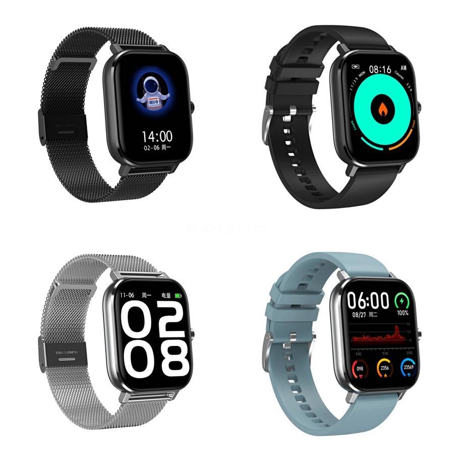 Saatler Jelly Tarak Erkek Spor DT-35 Akıllı İzle Su geçirmez IP68 Nabız DT-35 Akıllı İzle İçin Huawei Ios Tam Dokunmatik Bluetooth DT-35 Smartwa
