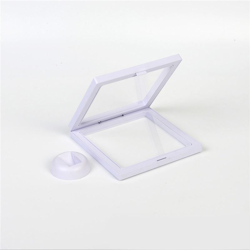 Elastic Transparent Medal Suspension Display Frame Crafts Floating Shadow Box
