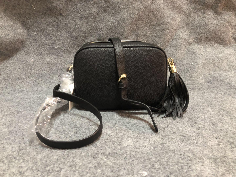 Borse raccoglitore di alta qualità borsa famosa delle donne delle borse dei sacchetti di Crossbody Bag Soho Disco Borsa a tracolla con frange borsa borsa con il numero di serie