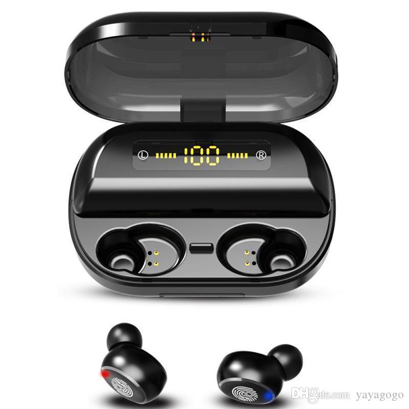 Hotsell V11 TWS Bluetooth 5,0 9D стерео наушники Беспроводные наушники IPX7 Водонепроницаемые наушники Спортивные наушники с 4000mAh зарядки окнеСоздание