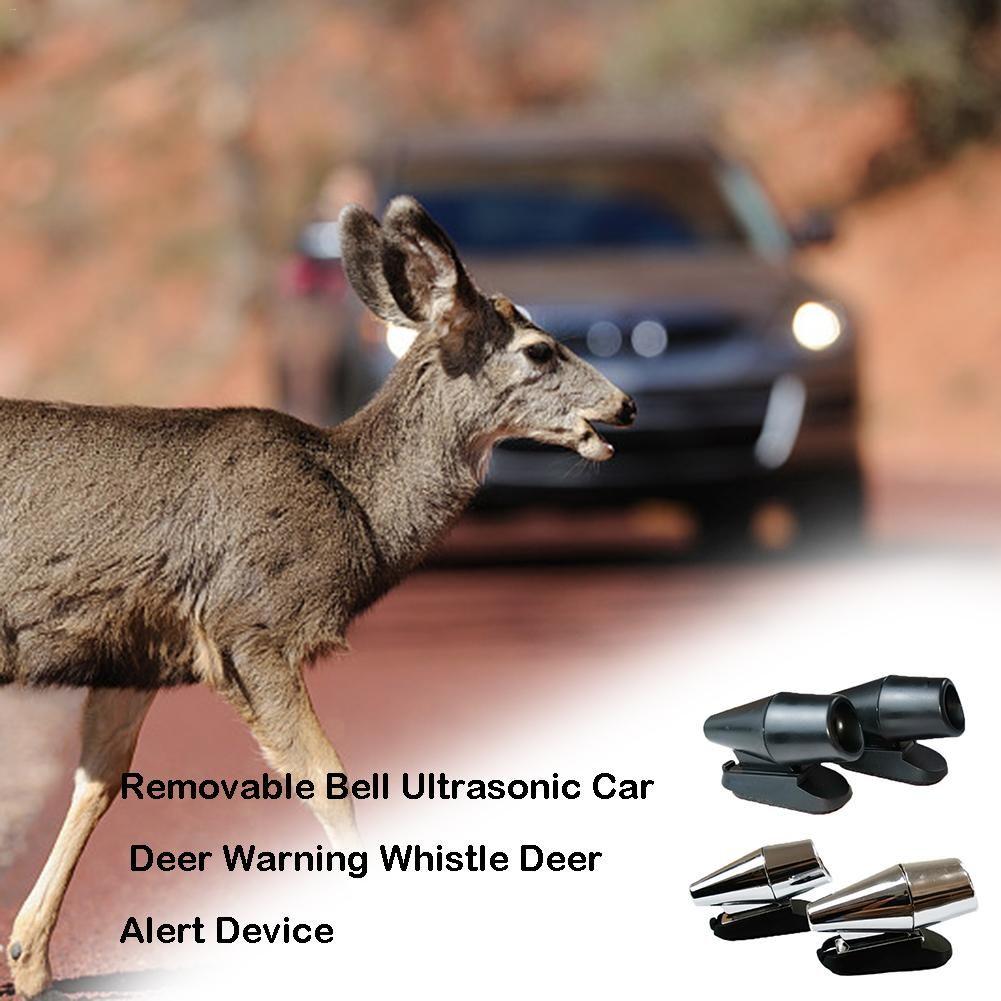 1 Pair Car Deer Animal Alert Warning Whistles Wildlife Motorcycle Bicycle Alarm