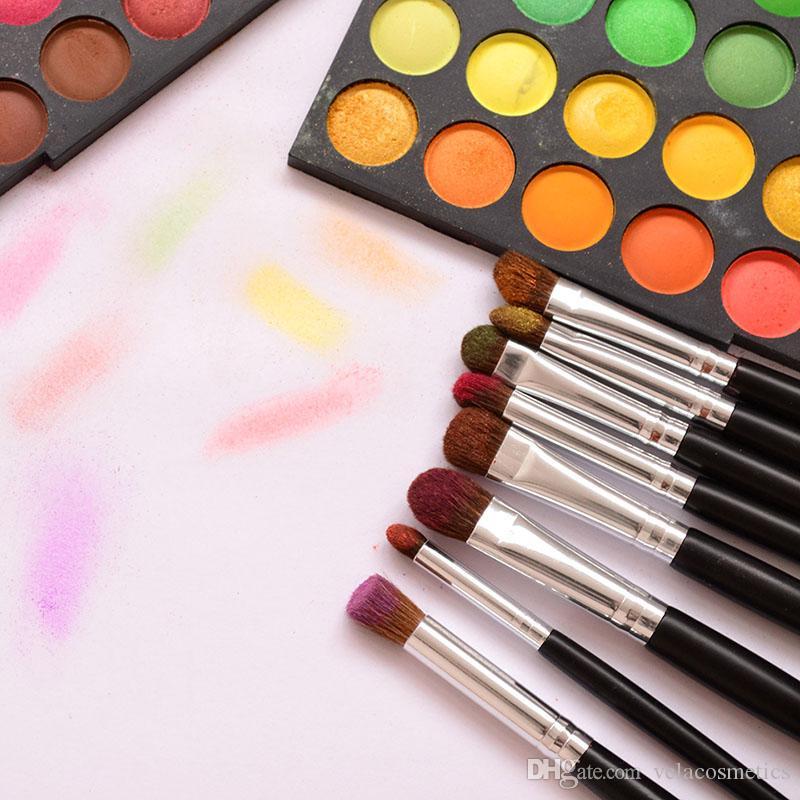 Премиум 8шт макияж глаз кисти набор природа волосы глаза тени контур смешивания макияж инструменты комплект