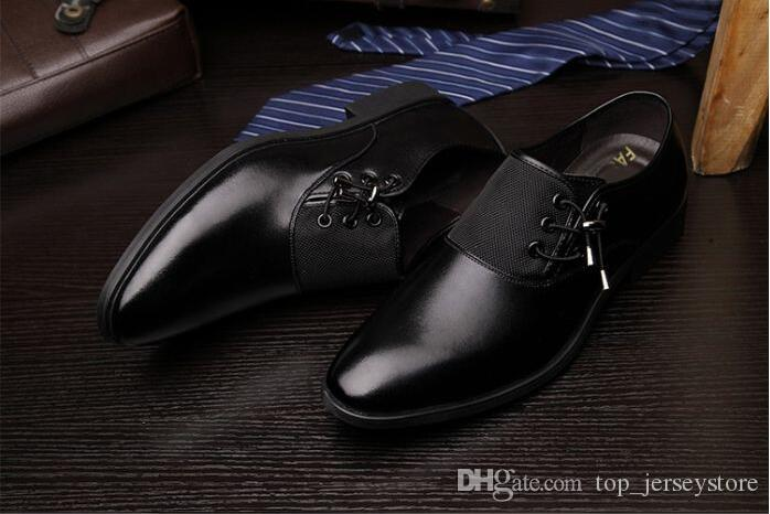 2019 Custom Handmade Men Dress Shoes