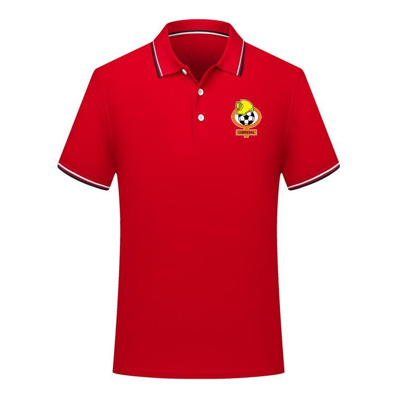 2020 Cobresal nouveau football occasionnel POLOS chemise manches courtes revers polo soccer masculin de polo en jersey de formation pour hommes Polos chemise