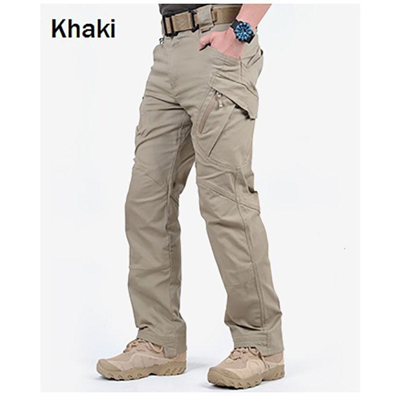 Марка ChoynSunday Tactical штанах Мужчины Combat Army Военные штаны Мульти Карманы Stretch Гибкий Человек Повседневный Брюки CJ191201