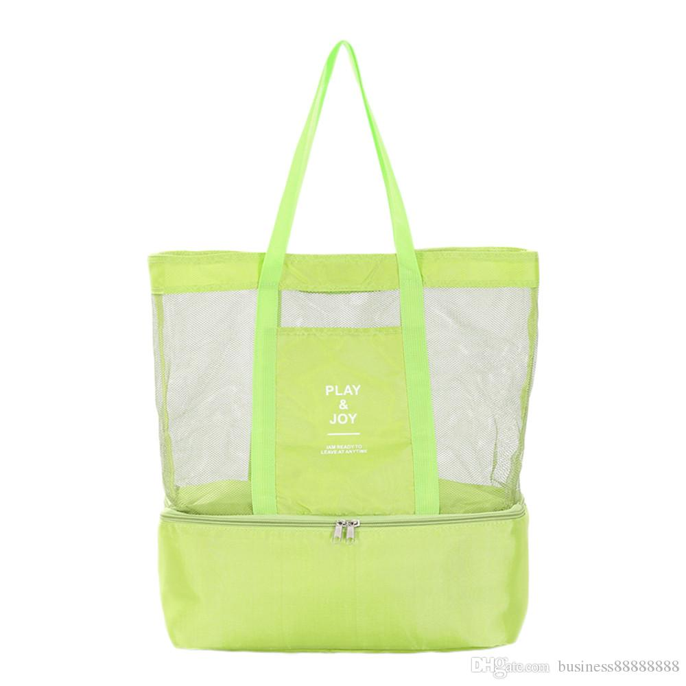 summer design Insulation double-layer Portable Multifunction Picnic Bag Lunch Box Travel Sport Container storage bag ice pack Milk Bag 4.22