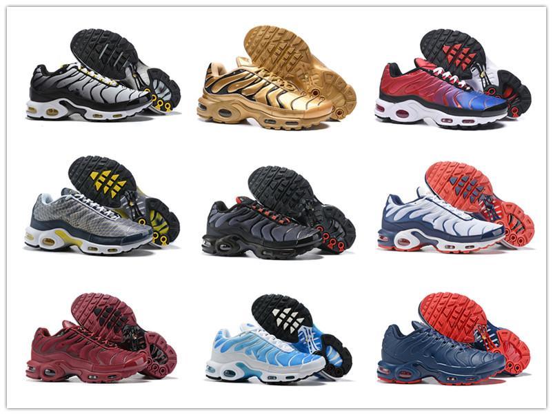 2018 Rosa Tn Além disso Decon Greedy SE OG Pacote Marinha Mercuiales Running Shoes Mens Mulheres Trainers Chaussures azul Fúria Esporte Sneakers Tamanho 40-46