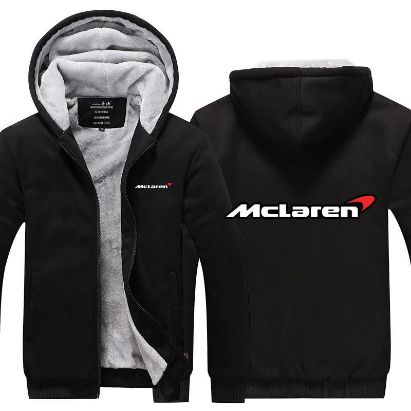 coat homens inverno nova Outono camisola Thicken Mclaren zipper camisola Casual Treino moda novo estilo