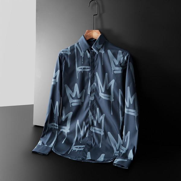 2019 yeni yüksek kaliteli, yüksek versiyonu erkek shirt20191008 # 581296wg