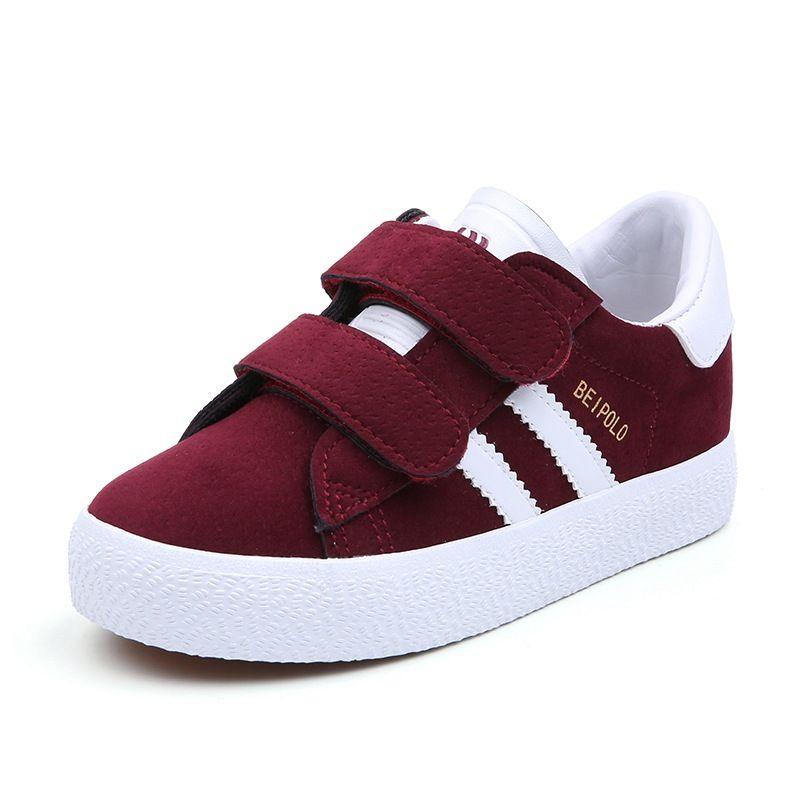 kleine Kinder Jungen und Mädchen Leinwand Schuhe Frühling Herbst Kinder Trainer Turnschuhe Schüler Schule Schuhe