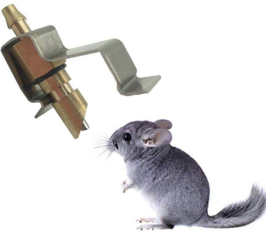 Bebedor animal automático de bronze do bocal do roedor do rato das aves domésticas