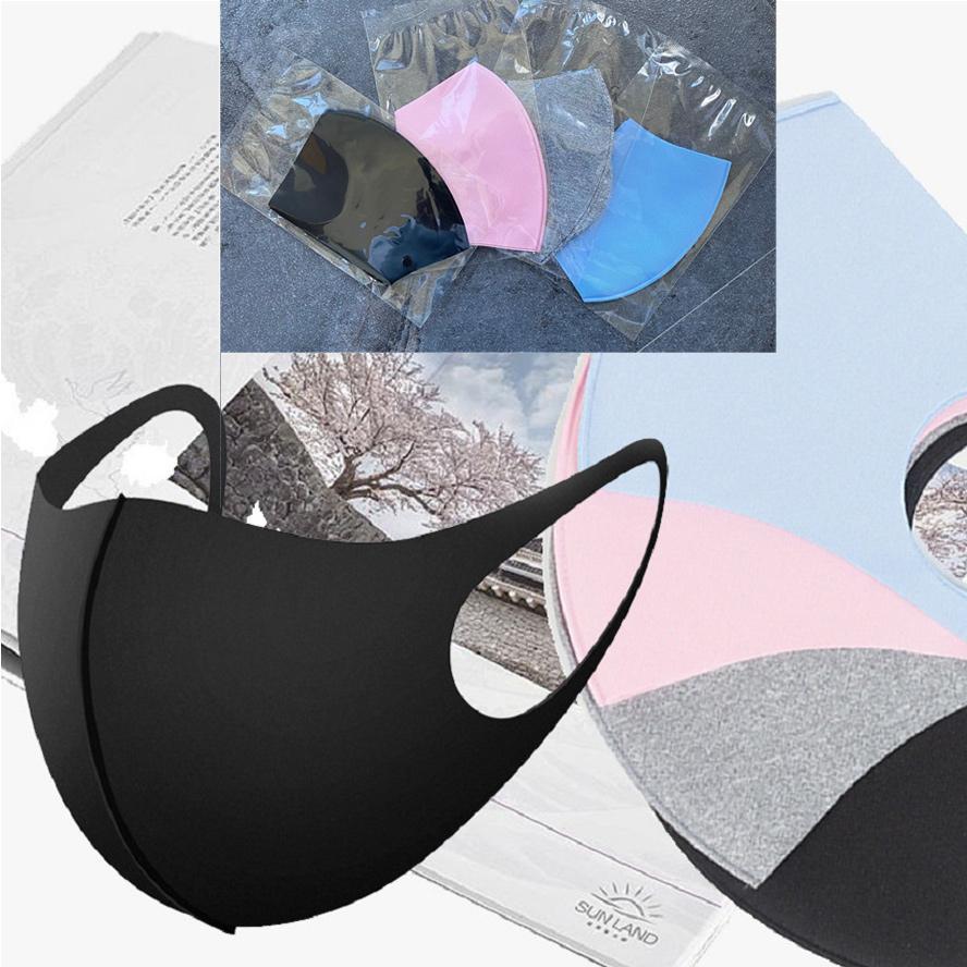 concepteur visage masque mode enfants visage noir masques PM2,5 enfants anti-pollution poussière bouche masque anti-poussière Earloop Masque de luxe