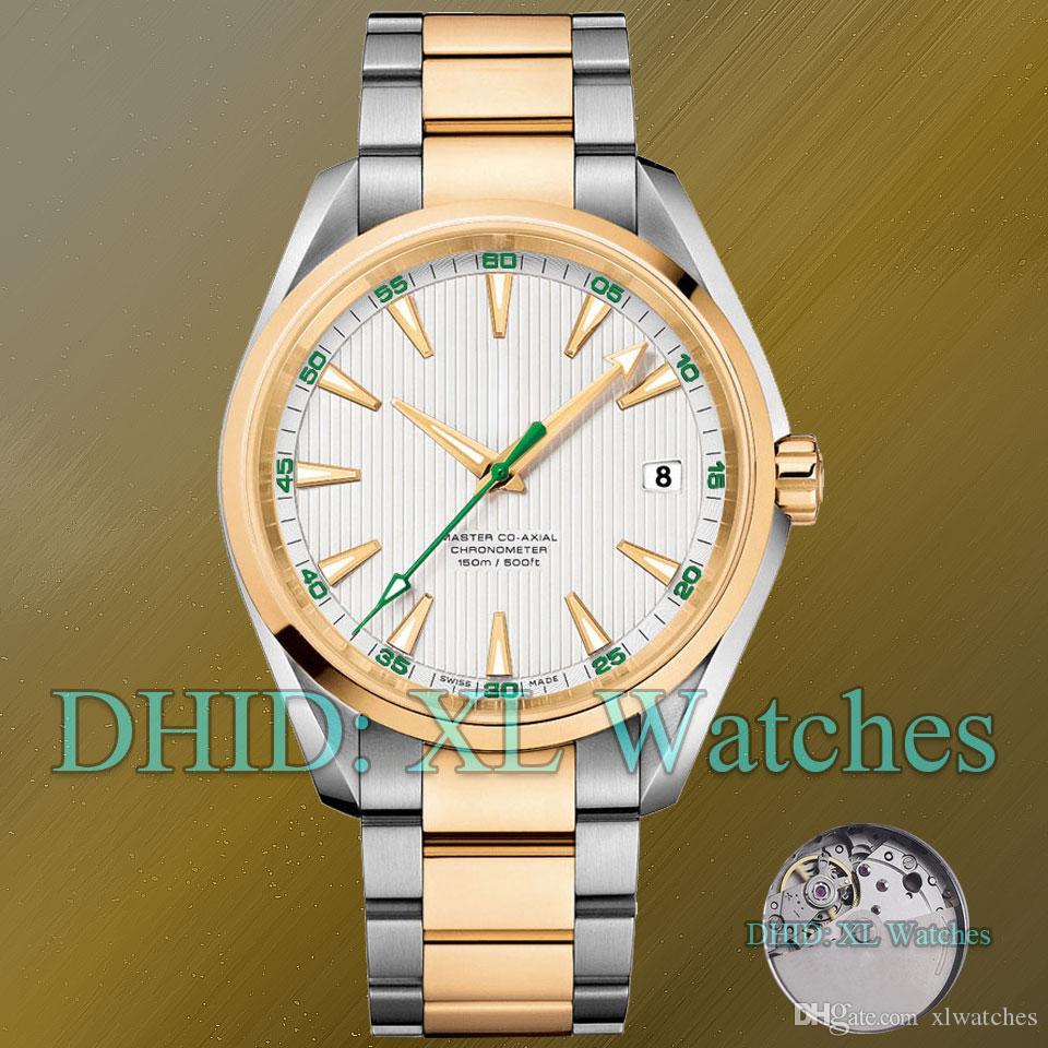 150m designer herrenuhren 231.10.42.21.01.002 316l edelstahl automatikwerk gold farbe stahlband kalender luxus herrenuhr a65-7