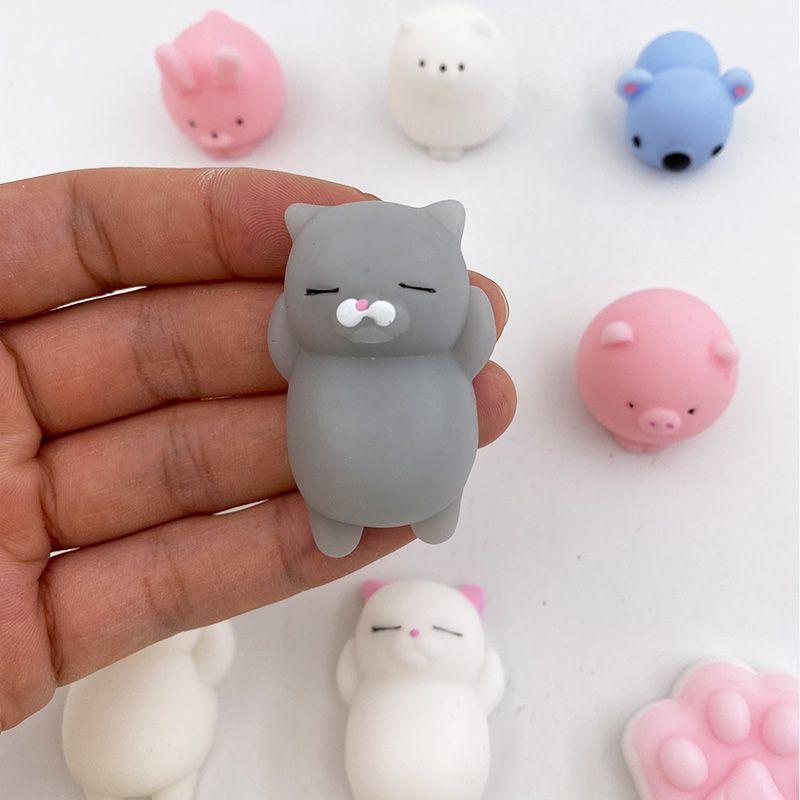 Precioso blando de juguete antiestrés Vent descompresión de Pequeños Animales linda muñeca de juguete para mascotas Curación Apriete cabrito de la diversión Squishies Novedad Juguetes