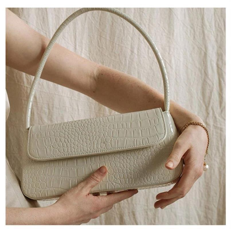 2020 новых дамы подмышки сумки прямоугольной формы камня картина плечо сумка мода простого багетная сумка сумка женщины