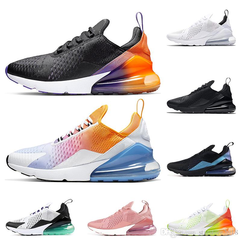 Running shoes for men Black Gradient Rainbow Volt Orang Throwback Future Triple Black white Grape womens sports sneaker trainers size 36-45