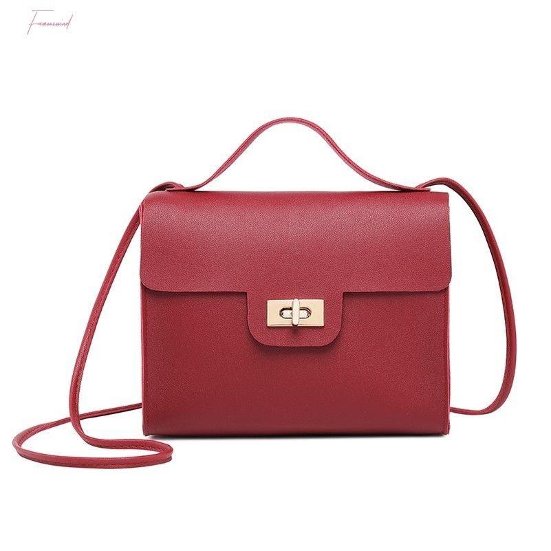Femmes Pu cuir Mini sac à main Bolsas Sac à bandoulière femme Sac bandoulière Messenger Tote Satchel bourse mode
